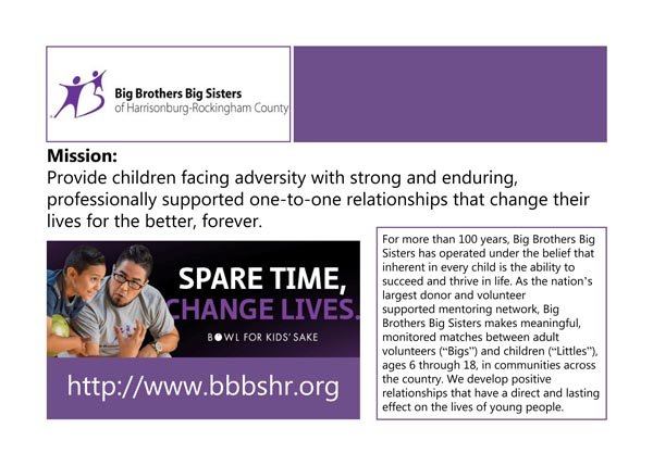 Big Brothers Big Sisters Poster