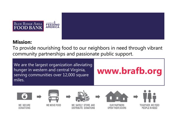 Poster of Blue Ride Area Food Bank