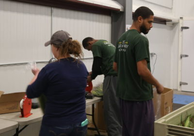 Green Valley Volunteers at Blue Ridge Area Food Bank