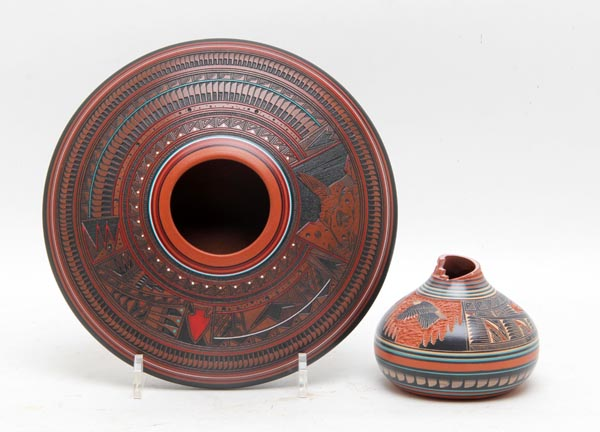 Native American Pottery items sold at Green Valley Auctions