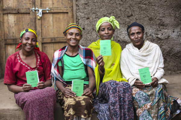 Photo of 4 Ethiopian women