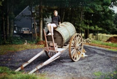 Elizabeth Evans and Water Wagon