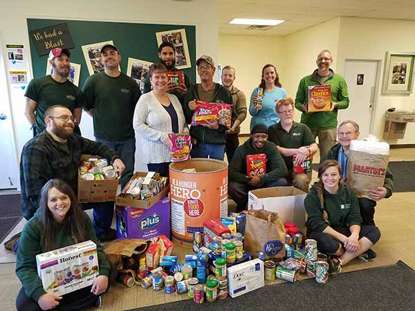 Green Valley Food Drive 2018
