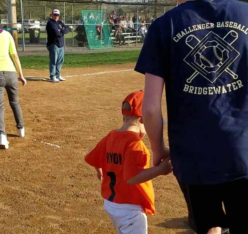Ryan and Challenger Baseball Buddy