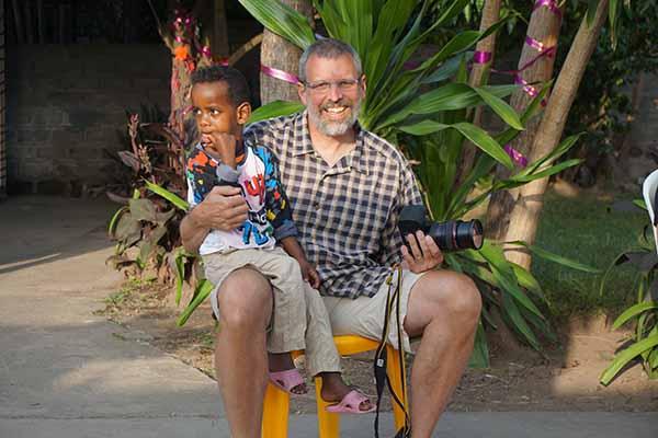 Greg & Child Hawassa Hope