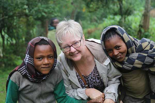Elizabeth in Ethiopia