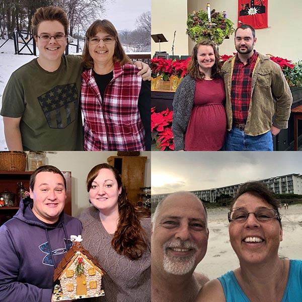 Green Valley Employees posing for Christmas Card photo
